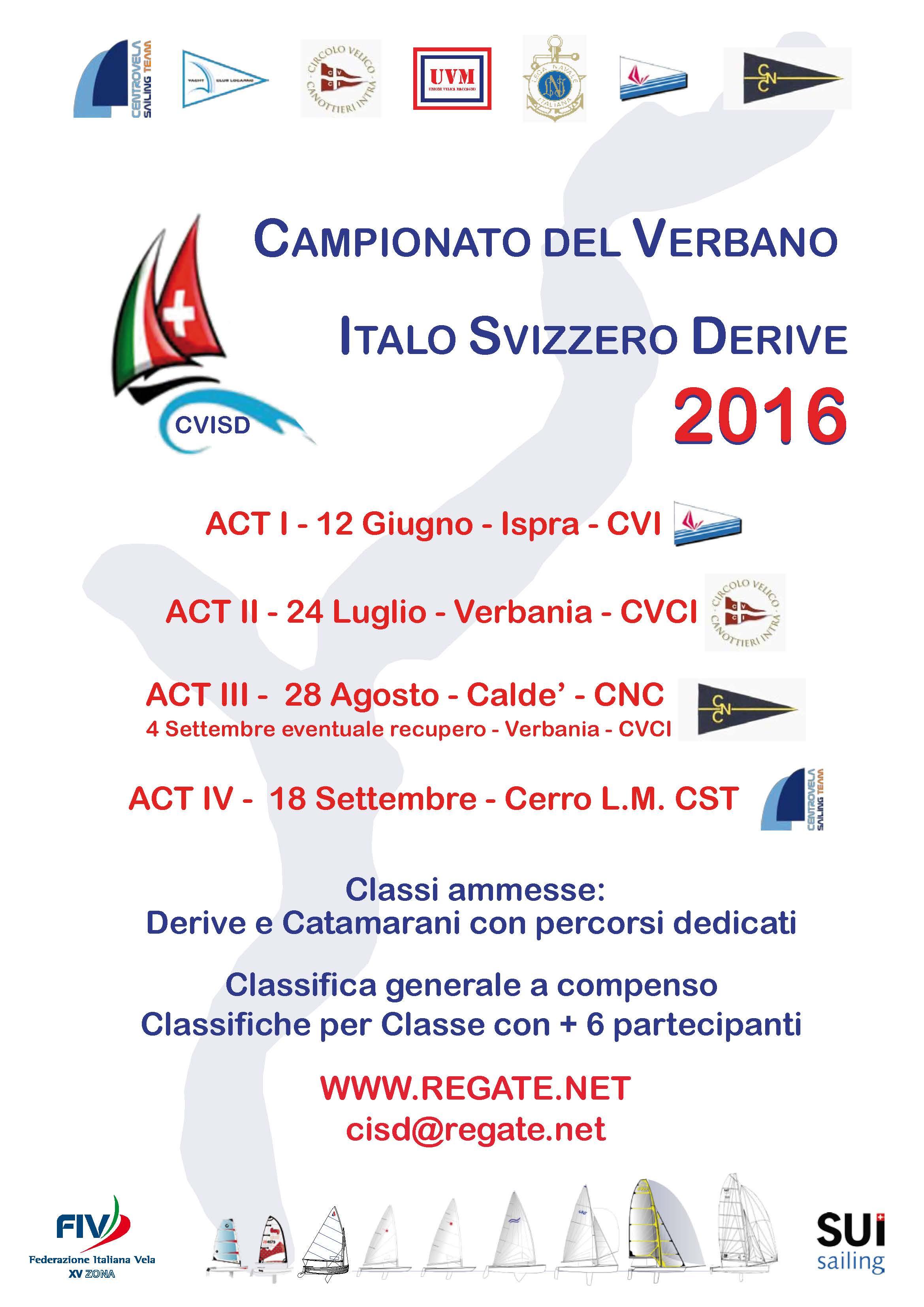 Campionato del Verbano Italo Svizzero derive