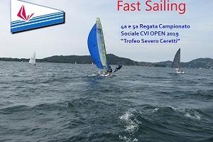 Fast sailing foto mini